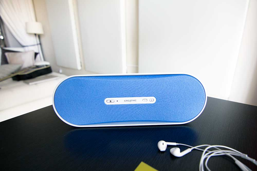 Creative audio bluetooth speaker