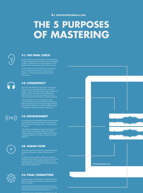 The 5 Purposes of Mastering