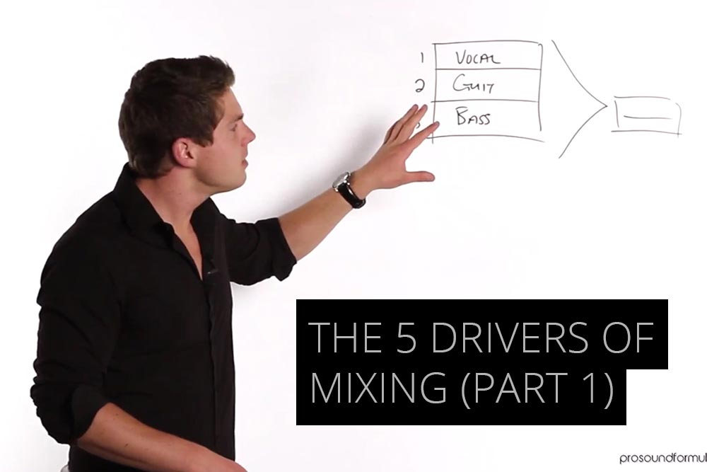 The 5 drivers of mixing