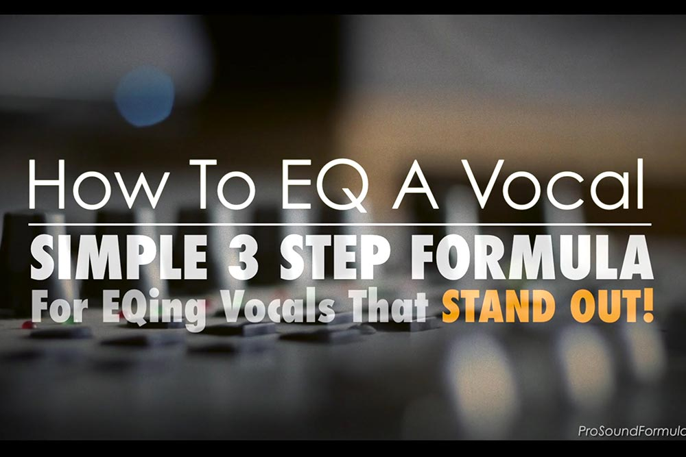 How to EQ vocals