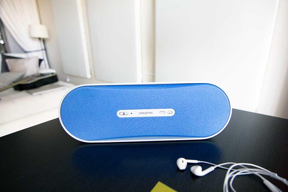 Creative audio bluetooth speaker